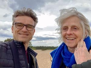 Sander van Hesteren en Marijke Levelink|Verbinding is dan ook een belangrijk uitgangspunt in de werkvormen die Horus Consult aanbiedt. Of dit nu ineen persoonlijk traject,teamverband, of één van de groepsreizen is.
