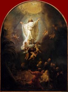 Rembrandt van Rijn: Hemelvaart De Christengemeenschap Andrieskerk Amsterdam