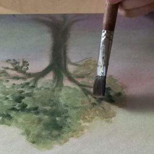 Cursus Volg de natuur door het jaar heen Marijke de Vries kunstzinnige therapie beeldend