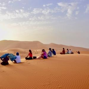 Woestijnretraite 'Stillness HorusConsult - Voor groei en balans in je persoonlijke en professionele leven