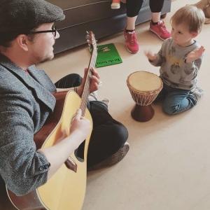 Muziek voor de jongste kindjes Het Bonte Huis, kleinschalige kinderopvang