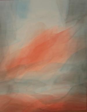 Schilderen in de sluiertechniek 6 zaterdagochtenden Praktijk voor Schildertherapie in licht, kleur en duisternis Anna Robadey