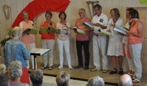 Aanvang nieuwe koorseizoen Mamoré in Alkmaar-Daalmeer Stemonthulling Zanglessen en koorvorming Maria Tomassen