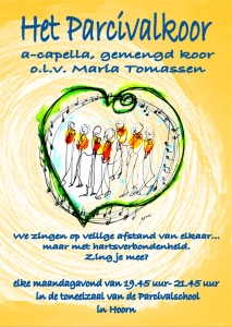 Zingen in het Parcivalkoor in Hoorn? Stemonthulling Zanglessen en koorvorming Maria Tomassen
