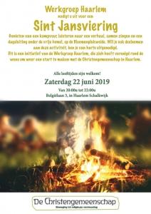 Sint Jansviering De Christengemeenschap - Werkgroep Haarlem