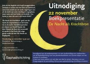 Boekpresentatie De Nacht als Krachtbron Breidablick