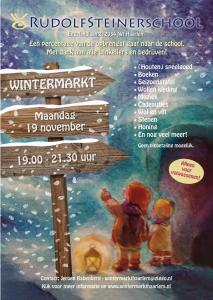 Wintermarkt Rudolf Steinerschool Haarlem Vrijeschool basisonderwijs